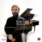Radu Lupu plays Brahms 3CD