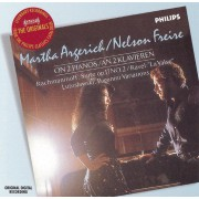 Martha Argerich & Nelson Freire on 2 pianos